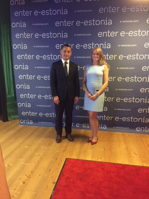 Visite du Ministre Darmanin en Estonie : Showroom à Tallinn le 17/07/2018 - JPEG