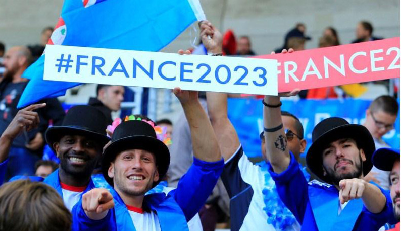 Supporters de la candidature #France2023 - JPEG